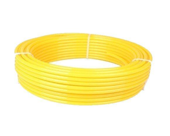 Tubo PU Amarelo Embalagem Com 100M